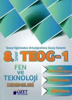 Özet Yayınları 8. Sınıf TEOG 1 Fen ve Teknoloji 20 Deneme