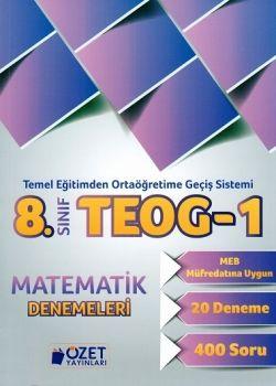 Özet Yayınları 8. Sınıf TEOG 1 Matematik 20 Deneme