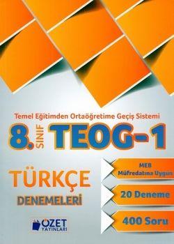Özet Yayınları 8. Sınıf TEOG 1 Türkçe 20 Deneme