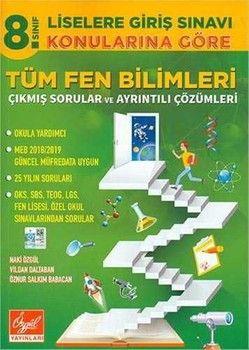 Özgül Yayınları 8. Sınıf Fen Bilimleri Konularına Göre Tüm Çıkmış Sorular ve Çözümleri