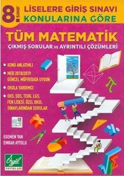 Özgül YayınlarıÖzgül Yayınları 8. Sınıf Matematik Konularına Göre Tüm Çıkmış Sorular ve Çözümleri