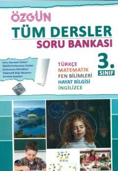 Özgün Yayınları 3. Sınıf Tüm Dersler Soru Bankası