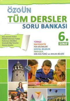Özgün Yayınları 6. Sınıf Tüm Dersler Soru Bankası