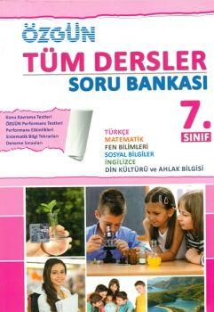Özgün Yayınları 7. Sınıf Tüm Dersler Soru Bankası