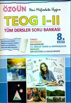 Özgün Yayınları TEOG I-II Tüm Dersler Soru Bankası