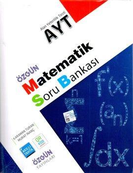 Özgün Yayınları AYT Matematik Soru Bankası
