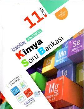 Özgün Yayınları 11.Sınıf Kimya Konu Özetli Soru Bankası