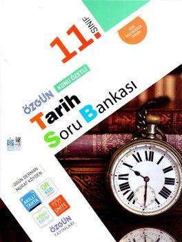 Özgün Yayınları 11.Sınıf Tarih Konu Özetli Soru Bankası