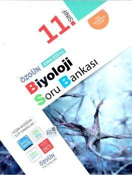 Özgün Yayınları 11.Sınıf Biyoloji Konu Özetli Soru Bankası