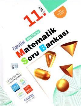 Özgün Yayınları 11.Sınıf Matematik Konu Özetli Soru Bankası