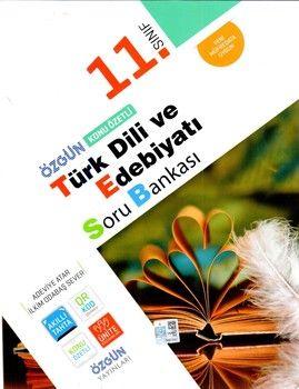 Özgün Yayınları 11.Sınıf Türk Dili ve Edebiyatı Konu Özetli Soru Bankası