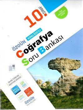Özgün Yayınları 10.Sınıf Coğrafya Konu Özetli Soru Bankası