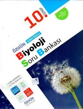 Özgün Yayınları 10.Sınıf Biyoloji Konu Özetli Soru Bankası