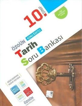 Özgün Yayınları 10.Sınıf Tarih Konu Özetli Soru Bankası