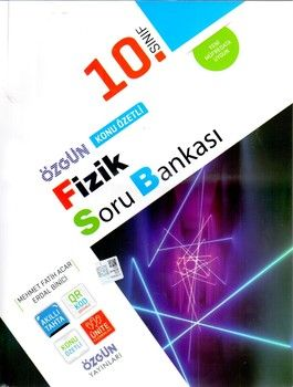 Özgün Yayınları 10.Sınıf Fizik Konu Özetli Soru Bankası