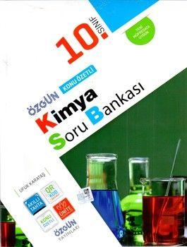 Özgün Yayınları 10.Sınıf Kimya Konu Özetli Soru Bankası