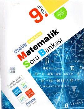 Özgün Yayınları 9.Sınıf Matematik Konu Özetli Soru Bankası