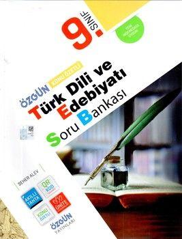 Özgün Yayınları 9.Sınıf Türk Dili ve Edebiyatı Konu Özetli Soru Bankası