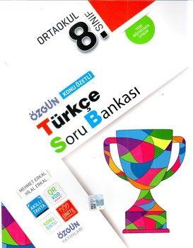 Özgün Yayınları 8.Sınıf Türkçe Konu Özetli Soru Bankası