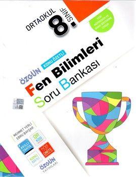 Özgün Yayınları 8.Sınıf Fen Bilimleri Konu Özetli Soru Bankası