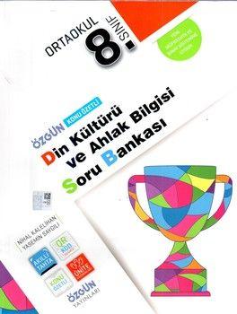 Özgün Yayınları 8.Sınıf Din Kültürü ve Ahlak Bilgisi Konu Özetli Soru Bankası