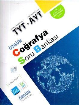 Özgün Yayınları TYT AYT Coğrafya Soru Bankası