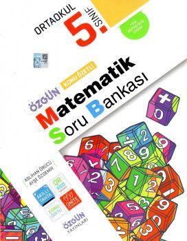Özgün Yayınları 5. Sınıf Matematik Konu Özetli Soru Bankası
