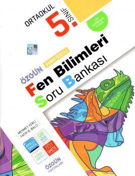 Özgün Yayınları 5. Sınıf Fen Bilimleri Konu Özetli Soru Bankası
