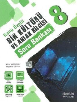 Özgün Yayınları 8. Sınıf Din Kültürü ve Ahlak Bilgisi Konu Özetli Soru Bankası
