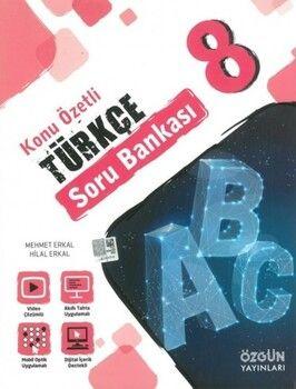 Özgün Yayınları 8. Sınıf Türkçe Konu Özetli Soru Bankası