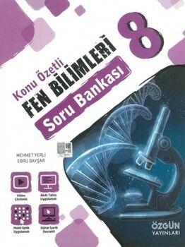 Özgün Yayınları 8. Sınıf Fen Bilimleri Konu Özetli Soru Bankası