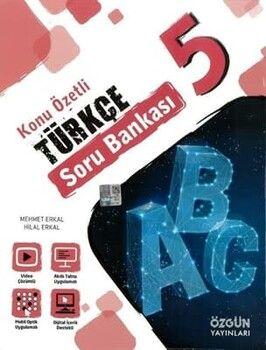 Özgün Yayınları 5. Sınıf Türkçe Konu Özetli Soru Bankası