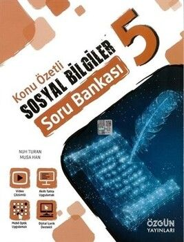 Özgün Yayınları 5. Sınıf Sosyal Bilgiler Konu Özetli Soru Bankası