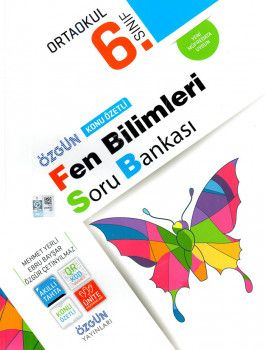 Özgün Yayınları 6. Sınıf Fen Bilimleri Konu Özetli Soru Bankası