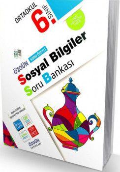 Özgün Yayınları 6. Sınıf Sosyal Bilgiler Özgün Konu Özetli Soru Bankası