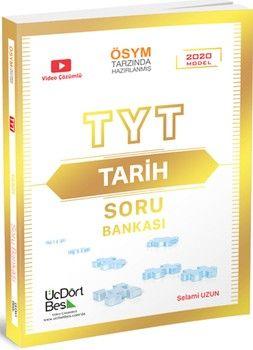ÜçDörtBeş Yayınları TYT Tarih Soru Bankası