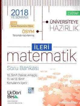 ÜçDörtBeş Yayınları YKS 2. Oturum İleri Matematik Soru Bankası 2. Kitap