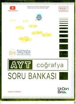 ÜçDörtBeş YayınlarıAYT Coğrafya Soru Bankası
