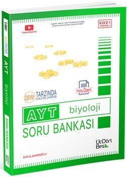 ÜçDörtBeş YayınlarıAYT Biyoloji Konu Özetli Soru Bankası