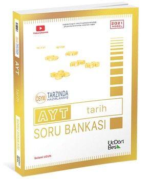 ÜçDörtBeş Yayınları AYT Tarih Soru Bankası