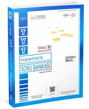 ÜçDörtBeş Yayınları TYT Matematik Soru Bankası