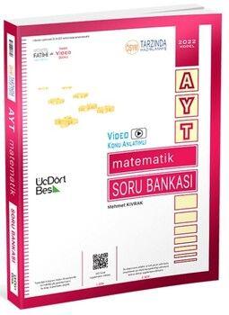 ÜçDörtBeş Yayınları 2022AYT Matematik Soru Bankası