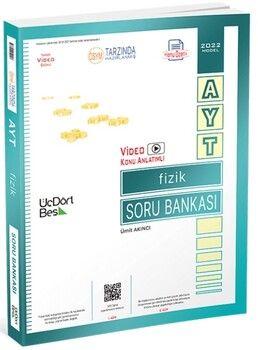 ÜçDörtBeş Yayınları 2022 AYT Fizik Soru Bankası