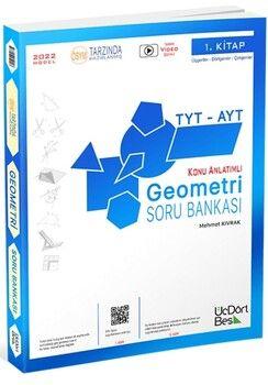 ÜçDörtBeş Yayınları TYT AYT Geometri Soru Bankası 1. Kitap