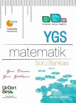 ÜçDörtBeş YGS Matematik Soru Bankası