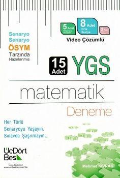 ÜçDörtBeş YGS 15 li Matematik Deneme Video Çözümlü