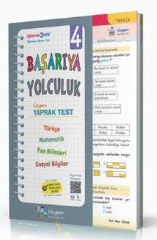 Üçgen Yayınları 4. Sınıf Başarıya Yolculuk Yaprak Test