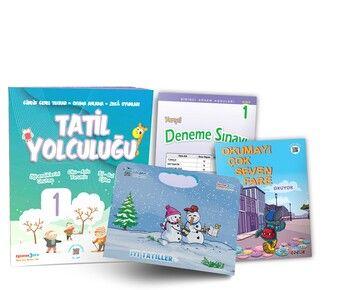 Üçgen Yayınları 1. Sınıf Tatil Yolculuğu Seti
