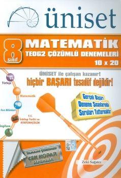 Üniset 8. Sınıf TEOG 2 Matematik Çözümlü Denemeleri 10x20