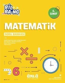 Ünlü Yayıncılık 6. Sınıf Matematik Bil Bang Soru Bankası